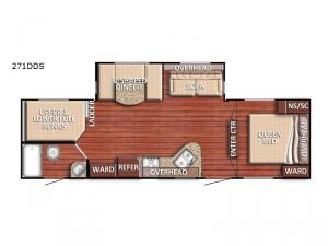 Conquest 271DDS Floorplan Image