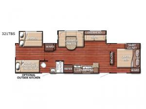 Conquest 321TBS Floorplan Image