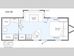 Minnie 2201DS Floorplan Image