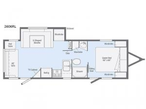 Minnie 2606RL Floorplan Image