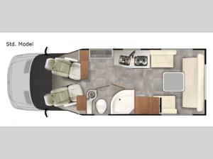 Plateau XLTS Std. Model Floorplan Image