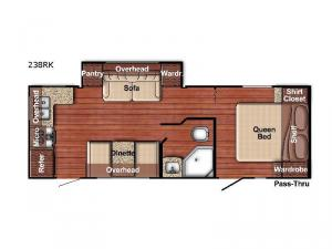 Friendship 238RK Floorplan Image