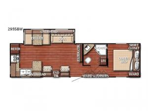 Friendship 295SBW Floorplan Image