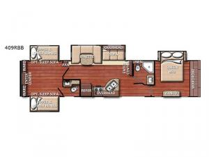 Conquest 409RBB Floorplan Image
