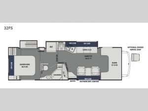 Freelander 32FS Ford 450 Floorplan Image