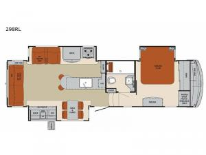 Columbus 1492 298RL Floorplan Image