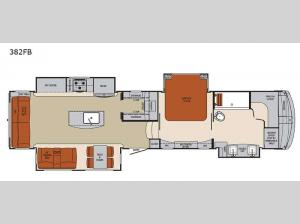 Columbus 1492 382FB Floorplan Image