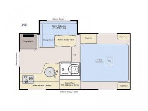 Adventurer 80S Floorplan Image