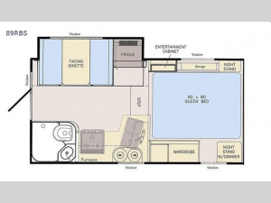 Adventurer 89RBS Floorplan Image