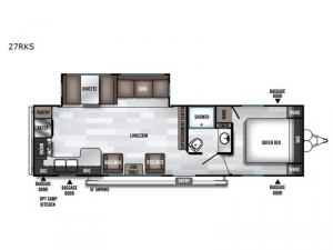 Salem 27RKS Floorplan Image