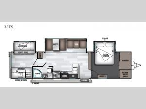 Salem 33TS Floorplan Image
