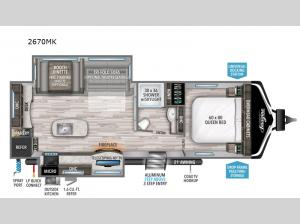 Imagine 2670MK Floorplan Image