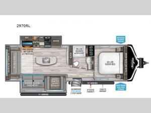 Imagine 2970RL Floorplan Image