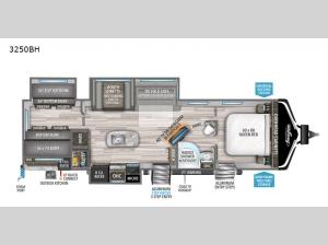 Imagine 3250BH Floorplan Image