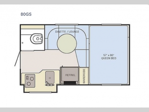 Adventurer 80GS Floorplan Image