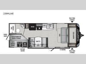 Passport 239MLWE SL Series Floorplan Image