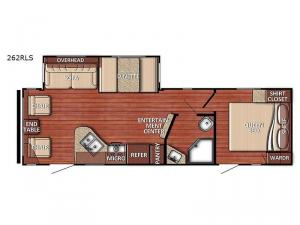 Conquest 262RLS Floorplan Image