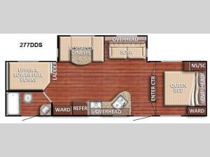 Conquest 277DDS Floorplan Image