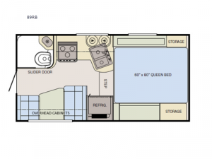Adventurer 89RB Floorplan Image