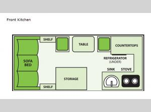 Expedition Front Kitchen Floorplan Image