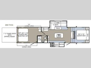 Puma Unleashed 359-THKS Floorplan Image