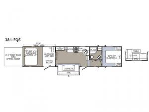 Puma Unleashed 384-FQS Floorplan Image