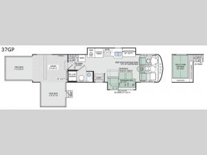 Outlaw 37GP Floorplan Image