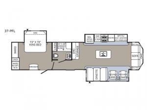 Puma Destination 37-PFL Floorplan Image