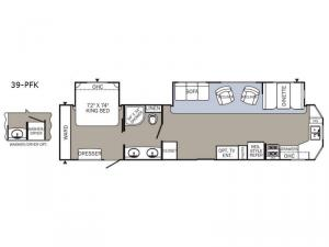 Puma Destination 39-PFK Floorplan Image