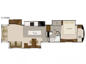 Elite Suites 41 RSSB4 Floorplan Image