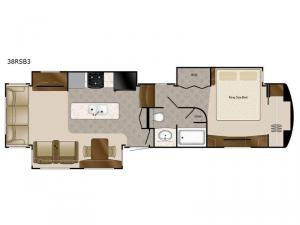 Elite Suites 38 RSB3 Floorplan Image