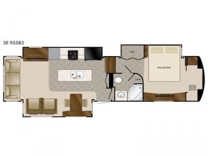 Elite Suites 38 RSSB3 Floorplan Image