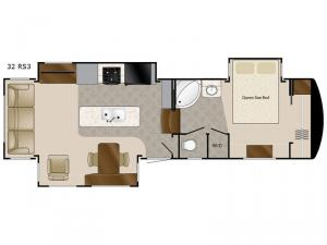 Mobile Suites 32 RS3 Floorplan Image
