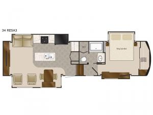 Mobile Suites 34 RESA3 Floorplan Image