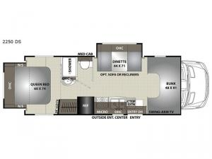 Prism 2250 DS Floorplan Image