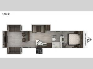 Cherokee 306MM Floorplan Image