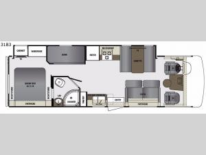 Georgetown 3 Series 31B3 Floorplan Image