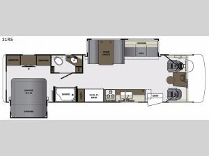 Georgetown 5 Series 31R5 Floorplan Image