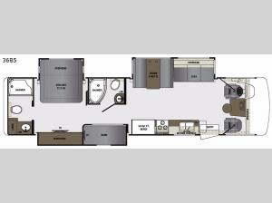 Georgetown 5 Series 36B5 Floorplan Image