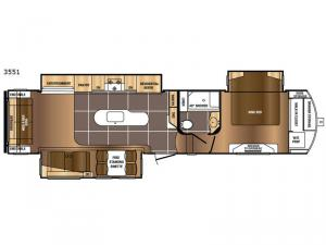 Sanibel 3551 Floorplan Image