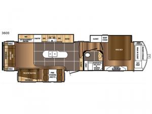 Sanibel 3600 Floorplan Image