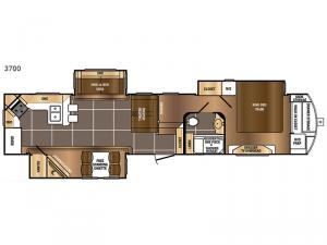 Sanibel 3700 Floorplan Image