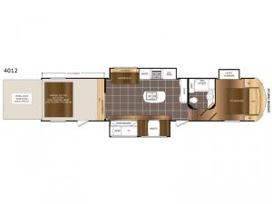 Spartan 300 Series 4012 Floorplan Image