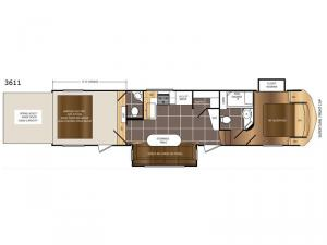 Spartan 300 Series 3611 Floorplan Image