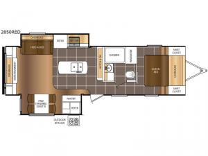 Tracer 2850RED Floorplan Image