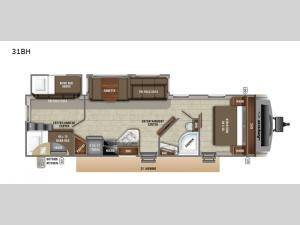 White Hawk 31BH Floorplan Image