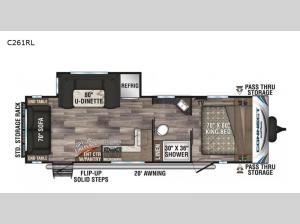Connect C261RL Floorplan Image