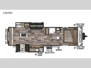 Connect C302RIK Floorplan Image
