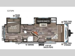 Connect C272FK Floorplan Image