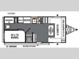 Viking 182DBU Floorplan Image